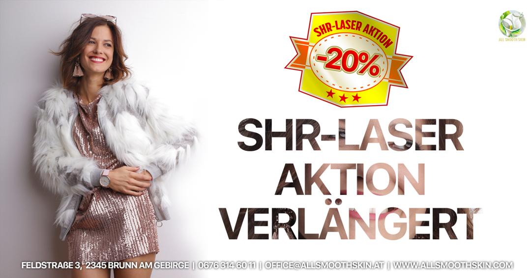 SHR-Laser Haarentfernung  - Aktion -20%